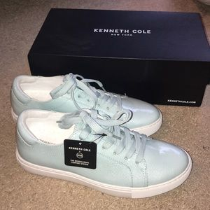 """KENNETH COLE NEW YORK """"KAM"""" Sneaker in Teal"""